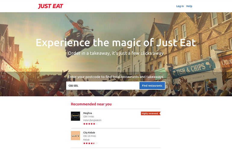Just Eat - Personalised Search